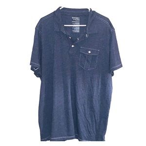 Men's Half Button Top